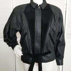 Winlit Vintage Leather and Suede Jacket